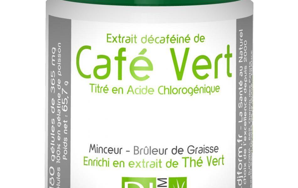 Utilisation de Garcinia Cambogia et d'extrait de café vert